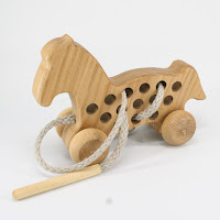 TT44, Threading Horse , Lotes Wooden Toys
