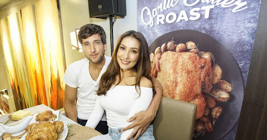 Powercouple Solenn Heussaff and NicoBolzico New Ambassadors of Kenny Rogers' Roasters Philippines