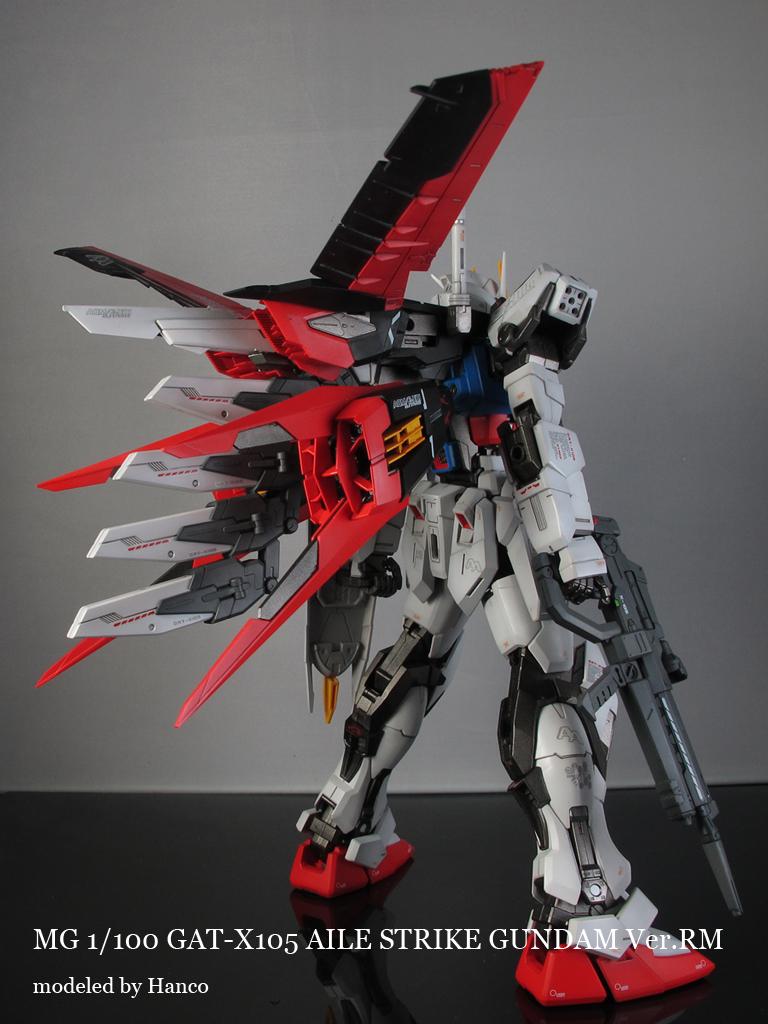Gundam Guy Mg 1 100 Aile Strike Gundam Ver Rm Painted