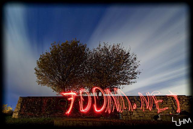 7oom.net mit Lichtr gemalt - Lightpainting