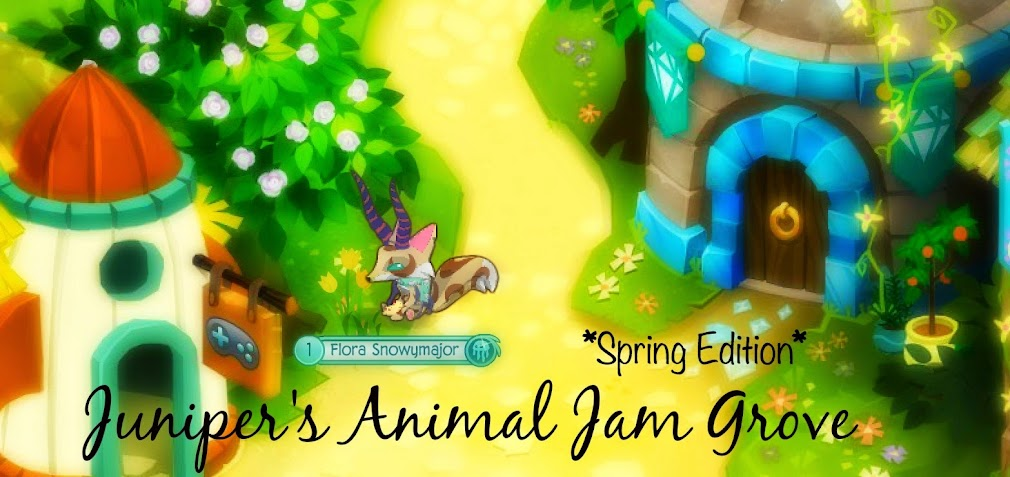 Juniper S Animal Jam Grove The Beta Days In Jamaa