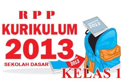 rpp kurikulum 2013 kelas 1