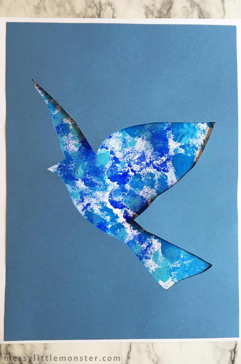 Rene Magritte Bird Art Project for Kids