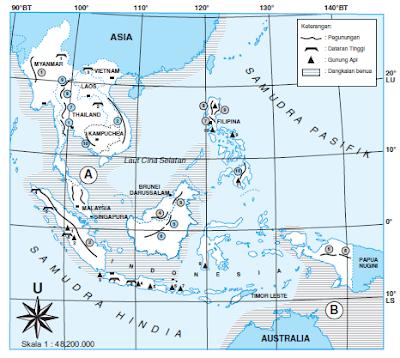 Iklim, Luas dan Ciri Ciri Benua Asia