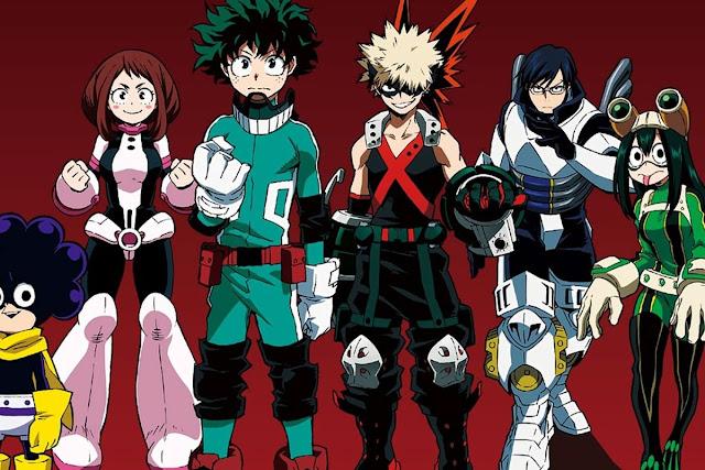 Manga 'My Hero Academia' Mendapatkan Spin-off Terbaru