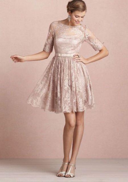 Dress Brokat Pendek Untuk Pesta Terbaru