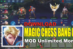 Magic Chess Bang Bang MOD APK Unlimited Money 1.1.2.1082 Auto Chess Versi Mobile Legends