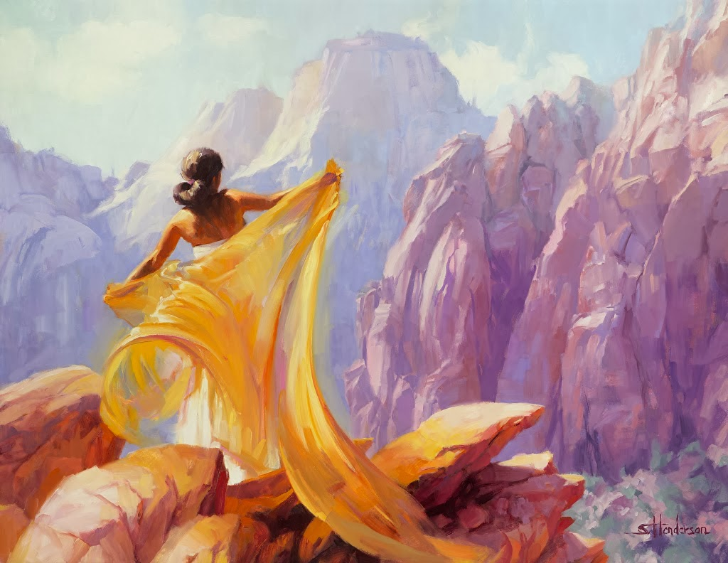 Mindblowing Colorful Figurative Paintings by Steve Henderson~Realism