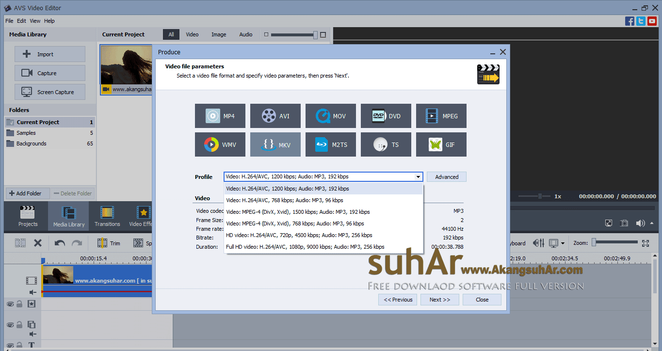 Free Download AVS Video Editor Full Crack