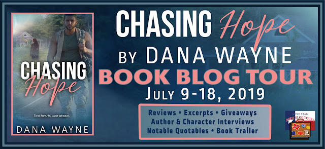 Chasing Hope book blog tour promotion banner