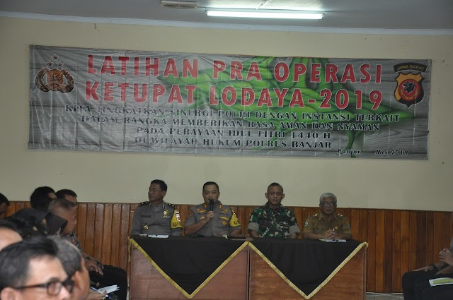 AKBP. Yulian Pimpin Latihan Pra Ops Ketupat Lodaya 2019
