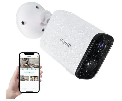 UMINO 1080P WiFi Cordless Surveillance Camera