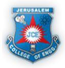 Walk-In Interview for Assistant Professor Vacancies-Jerusalaem College of Engineering
