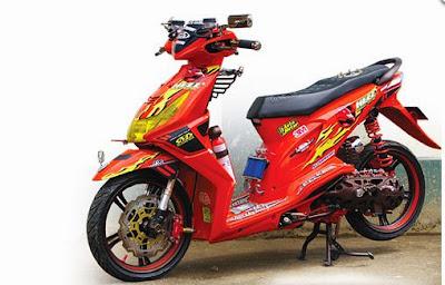 Variasi Motor Honda Beat Keren