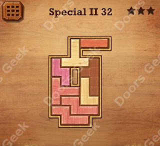 Cheats, Solutions, Walkthrough for Wood Block Puzzle Special II Level 32