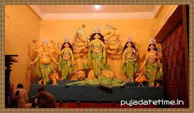 Kushmandi Baghrai Chandi Sarbajanin Durga Puja
