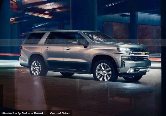 Chevrolet Tahoe tahun 2020 simber : caranddriver