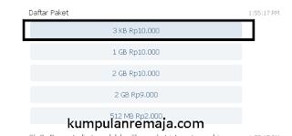 Paket OMG Dengan Asistan Virtual Telkomsel Di telegram