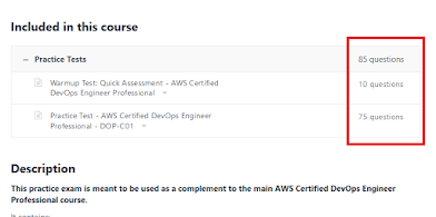 Best Practice test to pass the AWS Certified DevOps Engineer Professional Certification