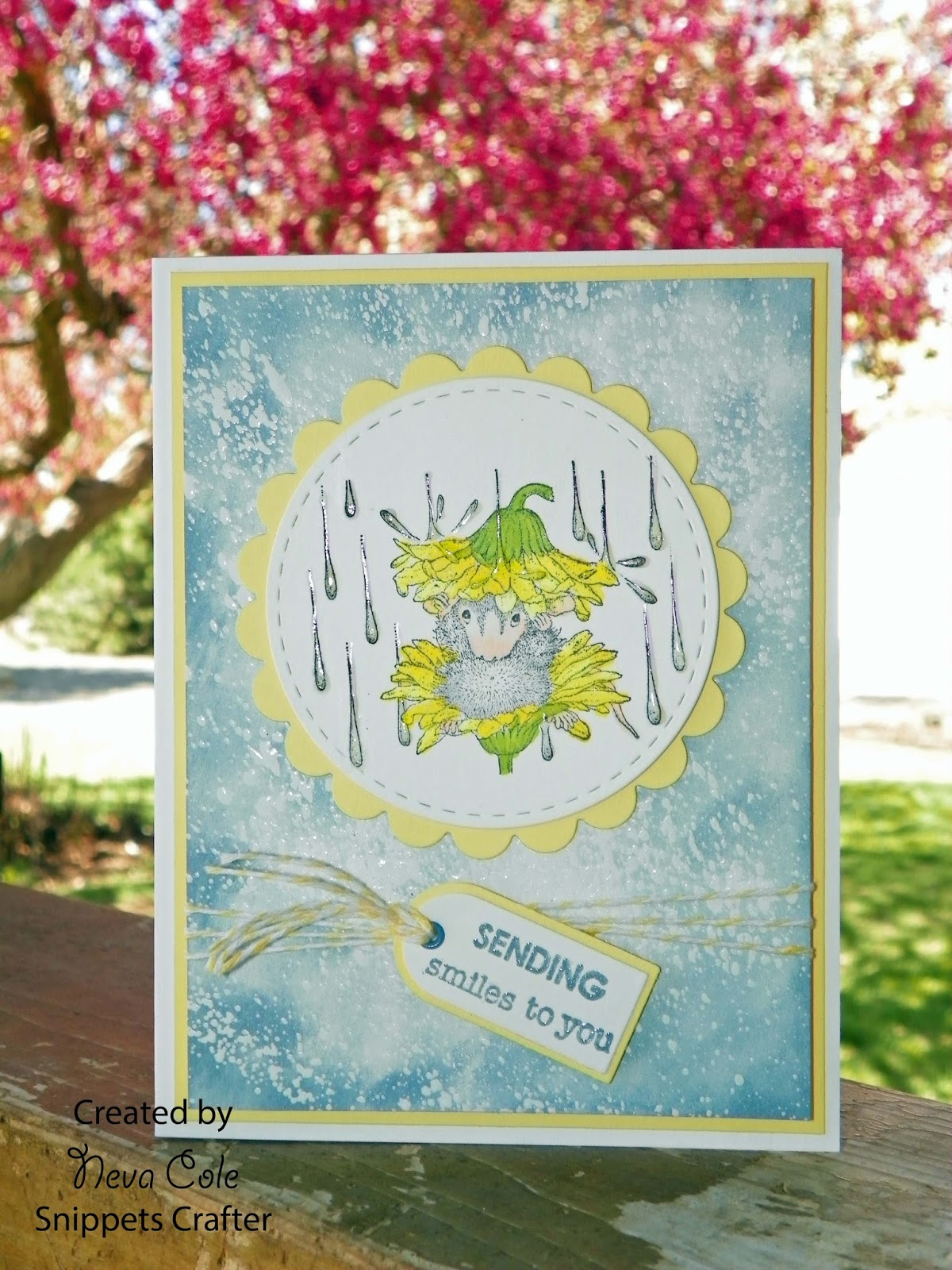 Finding snippets of time to craft april 2016 i found this lovely house mouse image that not only incorporates the april showers but also depicts the may flowers with the sweet dandelion umbrella that mightylinksfo