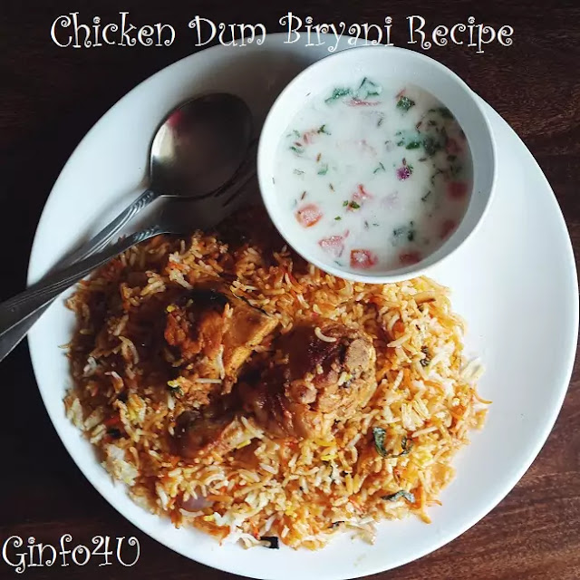 Hydrabadi-Chicken-Dum-Biryani-how to make chicken dum biryani recipe at home by Ginfo4u