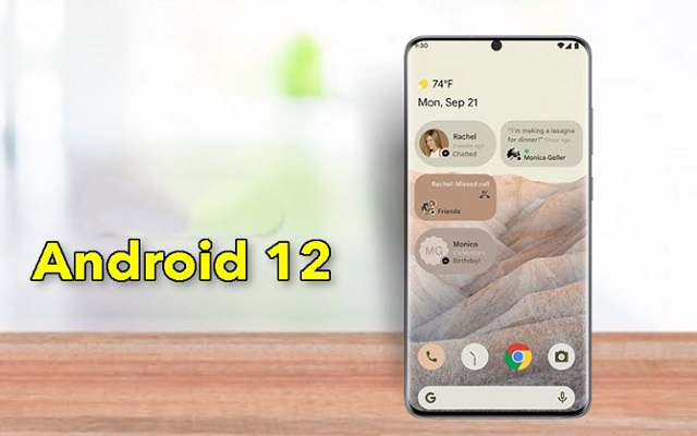 First look at Android 12: drastic changes in design