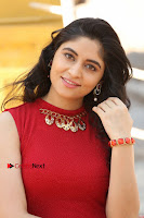 Telugu Actress Zahida Sam Latest Pos in Red Gown at RF Films New Movie Opening  0065.JPG
