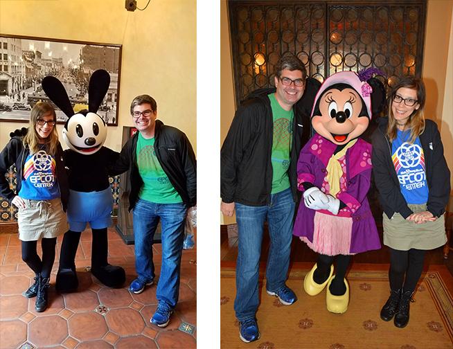 Rainy Days at Disneyland- Characters