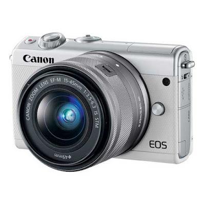 Canon EOS M100 DSLRファームウェアのダウンロード