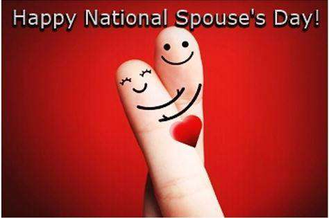 National Spouses Day Wishes Beautiful Image