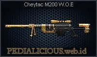 Cheytac M200 W.O.E