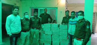 अवैध शराब की तस्करी मे लिप्त 1 आरोपी गिरफ्तार