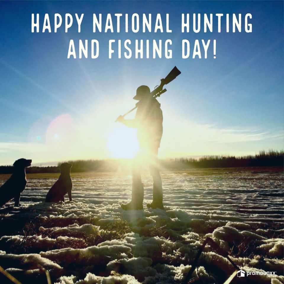 National Hunting and Fishing Day Wishes Sweet Images