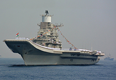 INS Vikramaditya Aircraft Carrier