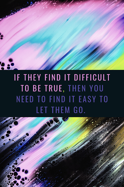 You have to let some people go.
