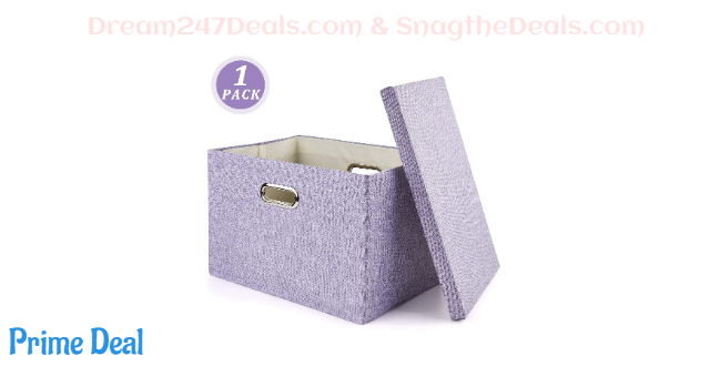 Storage Box, Collapsible Decorative 50% OFF