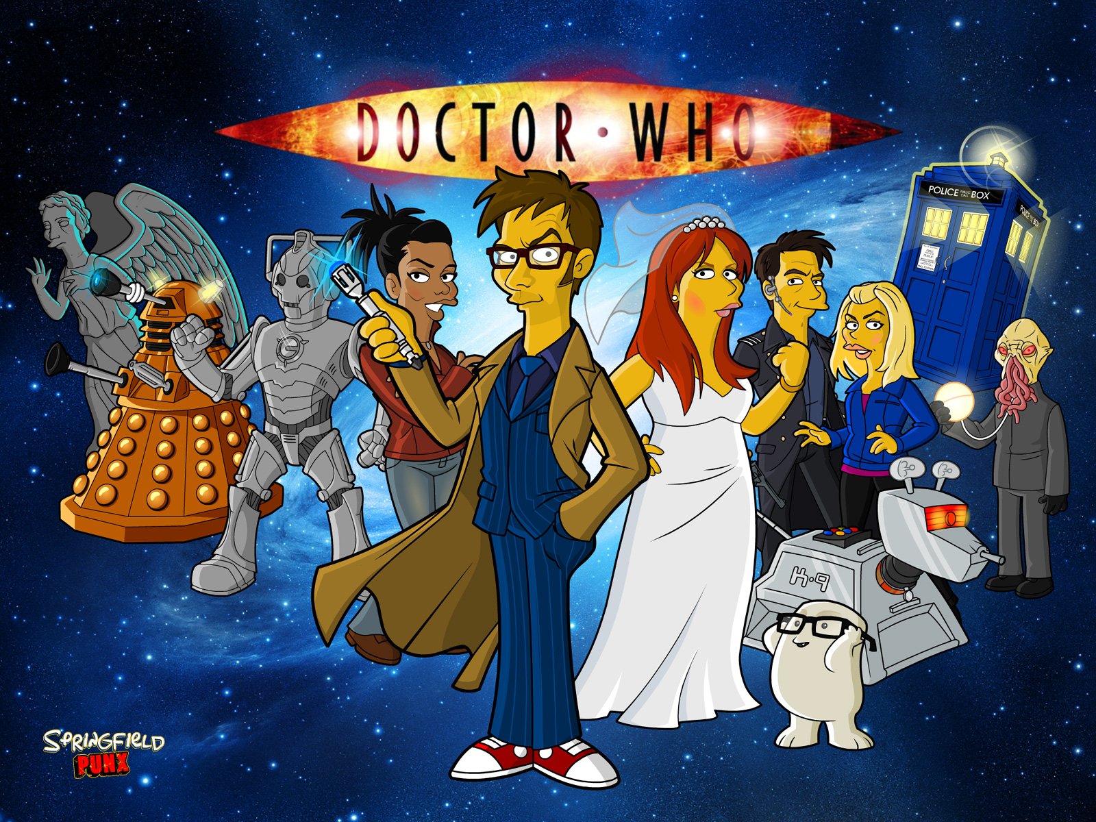 Springfield punx doctor who tennant wallpaper - Dr who wallpaper ...