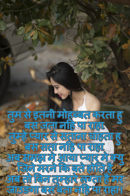 Hindi Love Shayari For Girlfriend New