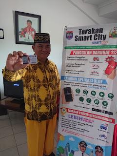 10 pelanggan pertama e-Parkir (Parkir Berlangganan) di Kota Tarakan - Tarakan Info