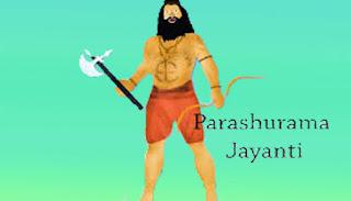 Parshuram Jayanti 2020 date,25 April Akeshe Tritiya Shukla paksha