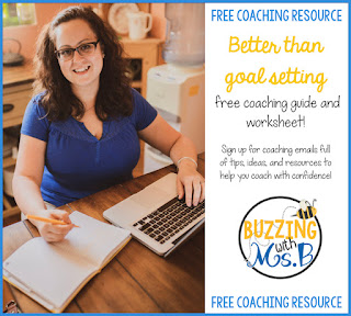 As an instructional coach, setting goals with teachers is an important part of the job. But sometimes we set goals without a realistic plan to achieve them! Grab a free goal setting printable to help you facilitate teacher goal setting and create a workable plan. It's an easy-to-use worksheet that will help you make your resolutions into a reality. Click to read the post and download your step-by-step guide complete with a planning template for 2019!