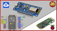 NodeMCU Development Board (ESP-8266 WiFi + ESP-12 Module) o Raspberry Pi?