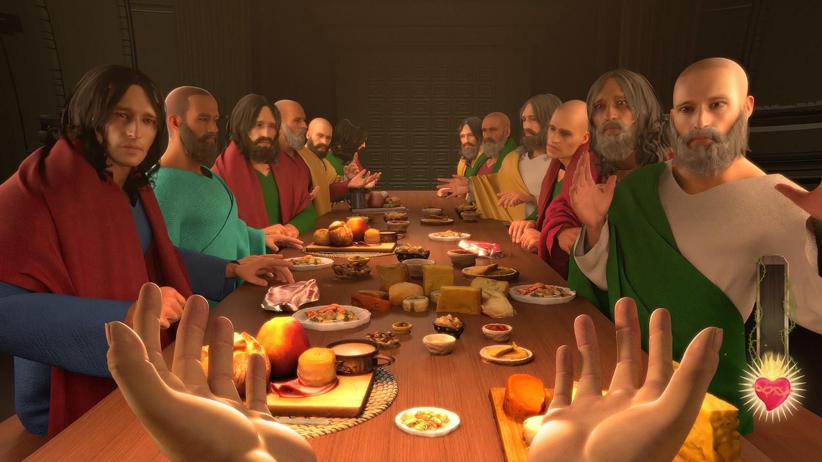 I am Jesus Christ | Ein First Person Simulations Game auf Steam lässt dich Jesus werden