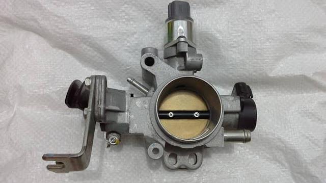 Merupakan throttle body untuk mesin mobil injeksi avanza