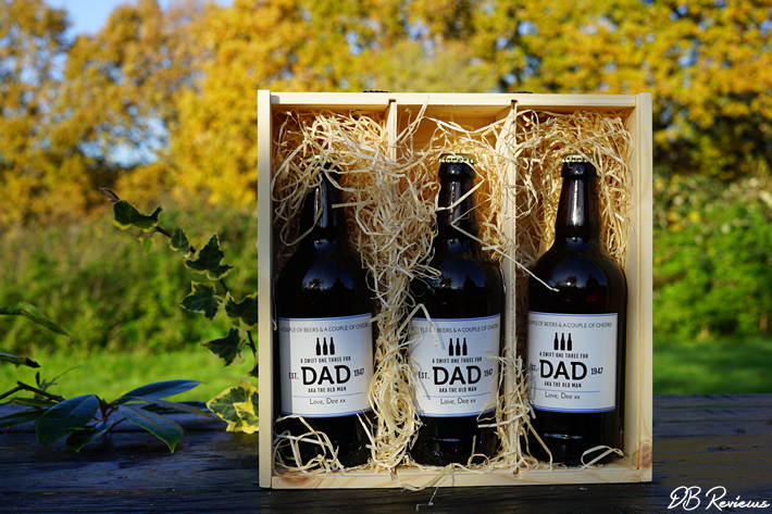 Swift Three for Dad Personalised Beer Box