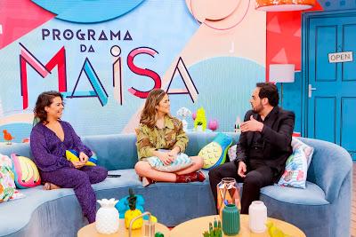 Fernanda Souza, Maisa Silva e Matheus Ceará - Crédito: Gabriel Cardoso/SBT