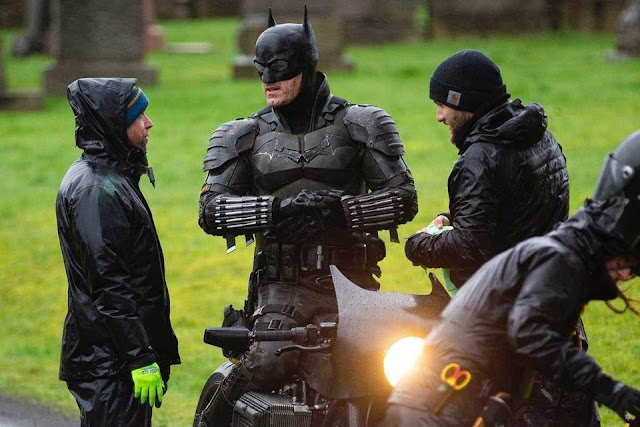 The Batman'den Yeni Set Görüntüleri Sızdı!