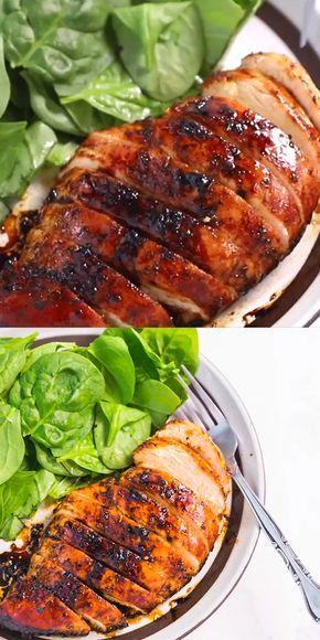 BAKED BALSAMIC CHICKEN BREAST RECIPE #recipes #dinnertonight #food #foodporn #healthy #yummy #instafood #foodie #delicious #dinner #breakfast #dessert #lunch #vegan #cake #eatclean #homemade #diet #healthyfood #cleaneating #foodstagram