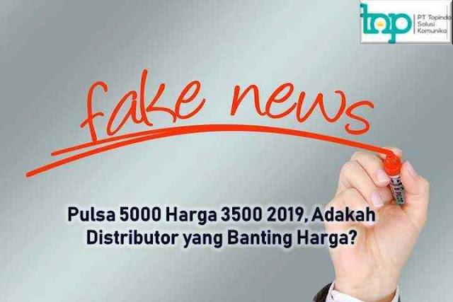 Pulsa 5000 Harga 3500, Adakah Distributor yang Banting Harga?