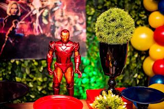 festa decoração herois
